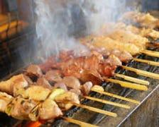 岩手県産朝挽き養鶏の炭火焼き鳥串