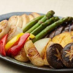 おまかせ鉄板焼野菜盛り合わせ