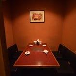 人気のプライベート完全個室!5名様までご利用可能!宴会コースは5000円!