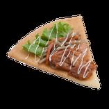 きんぴらごぼうと照り焼きチキンのサラダ