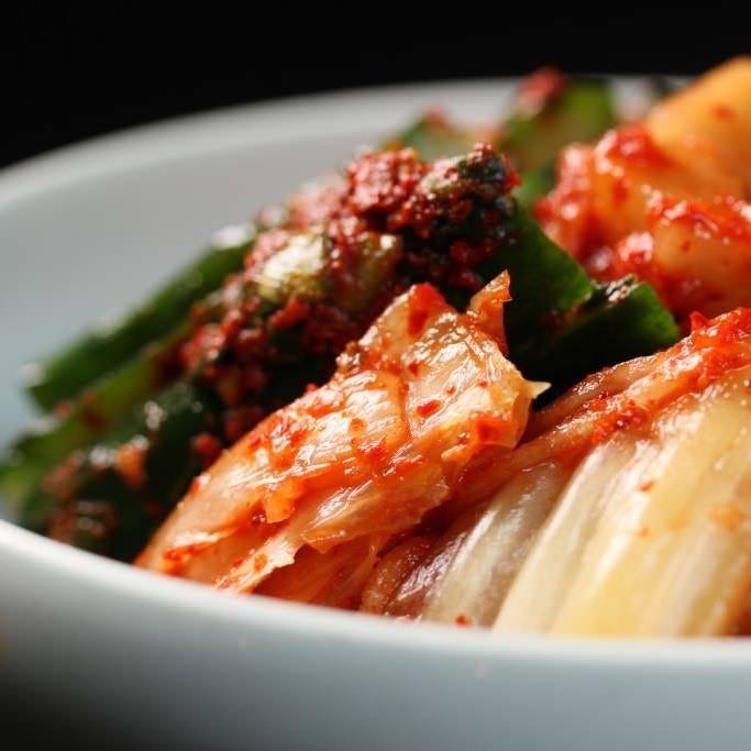 自家製の韓国料理