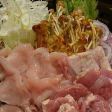 宮崎県産地頭鶏の日替わりメニュー
