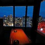 【半個室】窓際カップルシート