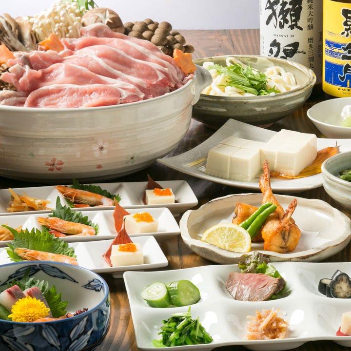 【料理のみ】旬の素材。京風懐石を贅沢に 全9品『彩り(irodori)懐石』コース 宴会 飲み会 接待