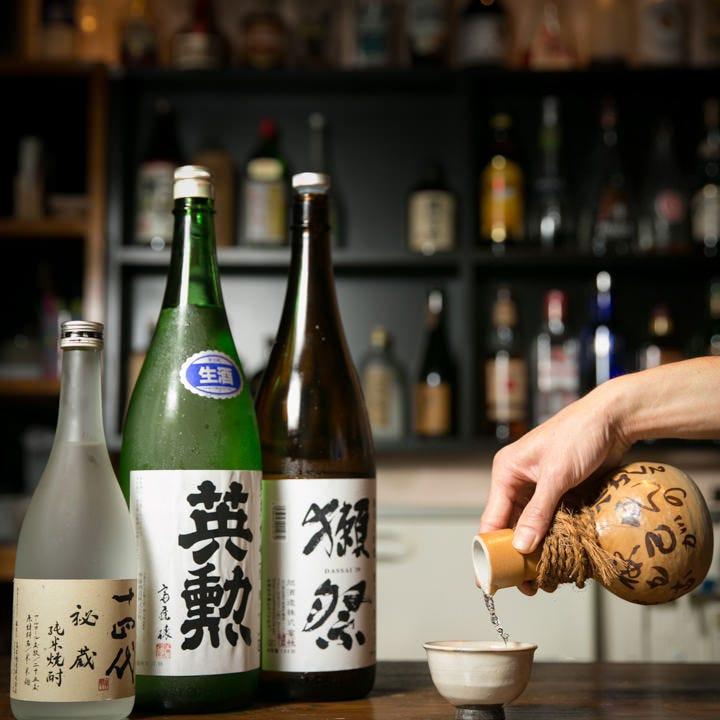 様々な個性を楽しむ。日本酒の数々