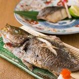 本日の日替わり焼き魚・炙り魚