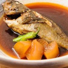 本日の日替わり煮魚