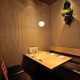 お祝いにもビジネスの1シーンにも【テーブル個室(4名様用×3室・8名様用×1室)】