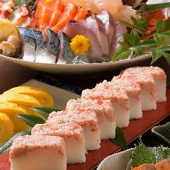 ずわいがに押し寿司
