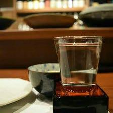 月替りの日本酒と共に