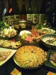 その日の日本酒数種類も飲み放題に。