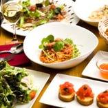【お料理のみ】大切な日・記念日等に おもてなしアニバーサリーコース(3名様~)