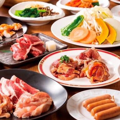 本格焼肉&ジンギスカン ばくよう亭  コースの画像