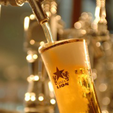 生ビール含む豊富なラインナップ