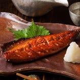 当店特製干し魚『さばみりん』