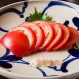 甘くて瑞々しい『糸島産 塩トマト』