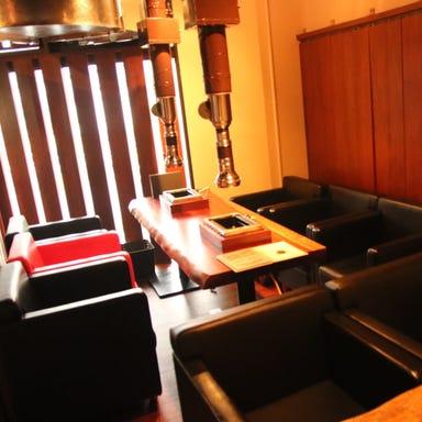 焼肉 トラットリア 西山  店内の画像