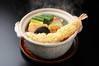 天ぷら鍋焼うどん