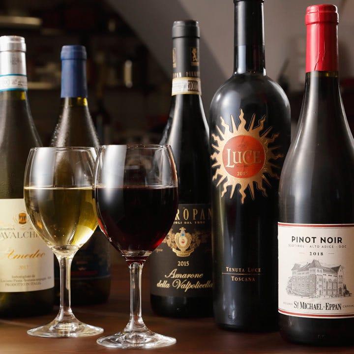 ソムリエ店主厳選のイタリアワイン