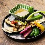 炭焼き野菜 バーニャカウダソース