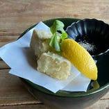 カマンベールの天ぷら