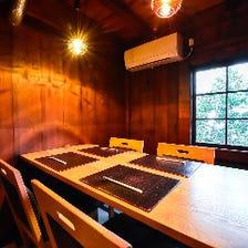 「洗練された美空間個室」
