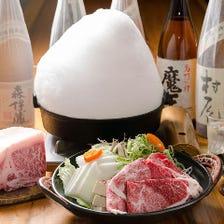 石垣牛とあぐー豚の食べ比べコース <全6品> 宴会・飲み会・新年会・歓送迎会