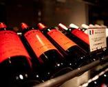 ワインセラーでワインを選べます。