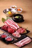焼肉を気軽にしっかりと楽しめる、『集い食べ放題コース』