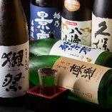 【多彩な日本酒】 米どころのものをメインに仕入れています