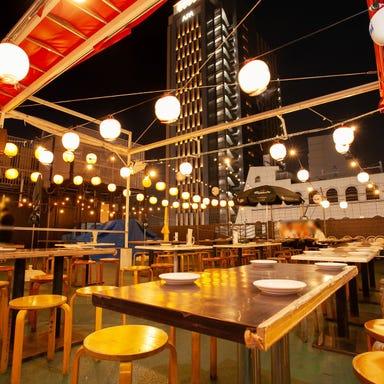 新宿BBQビアガーデン 天空ルーフトップ 店内の画像