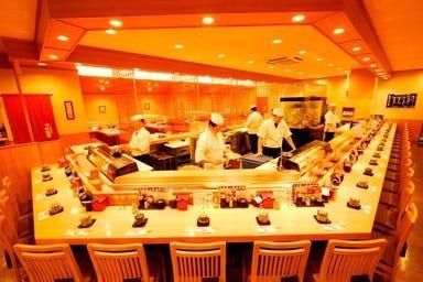 回転寿司 平四郎 スピナガーデン大手町店  店内の画像