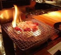 【最高】高温の炭火で焼き上げるお肉