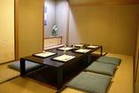 【接待・ご宴会・お祝いなどに…】完全個室は4~8名でご利用可能。