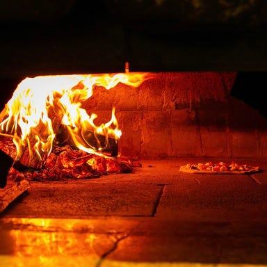薪窯ナポリピッツァとワイン マンマミーア  こだわりの画像