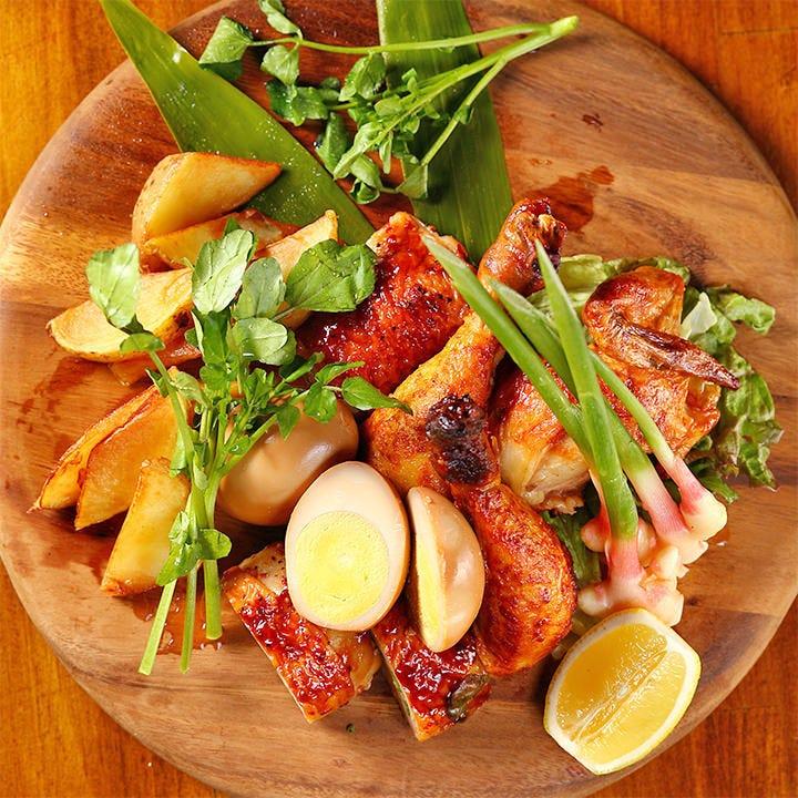 【美桜鶏】食材自慢の肉料理が旨い!