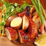 国産銘柄鶏『美桜鶏』を使用【山梨県】
