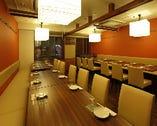 個室は~33名様まで、ご宴会最大人数は70名様まで
