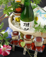 季節のおすすめ地酒3種飲み比べ