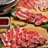 炭火焼きで楽しむ厳選のお肉