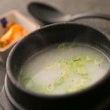 本場韓国、黄(ファン)先生直伝のソルロンタンスープ
