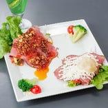 健康焼肉フルコースから逸品料理