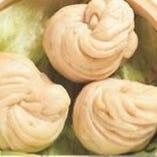 自家製花型中国パン