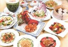 中国四大料理が楽しめる4000円コース