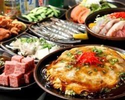 お好み焼き・食べ放題 若竹川崎モアーズ店 コースの画像