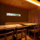 テーブル席(2~5名様×2卓)