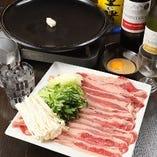 牛肉の焼きしゃぶ鍋セット ※野菜付き
