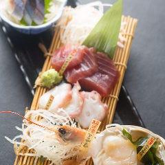 本日の鮮魚お刺身5種盛り