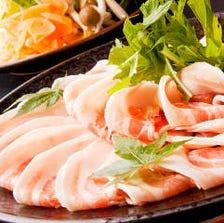 食べ放題【豚しゃぶしゃぶコース】全48種類90分食べ放題 2000円