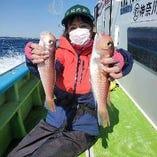 3月14日の釣果♪アマダイ釣り大会!なんと。。2位♪